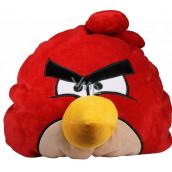 Angry Birds Relaxačný vankúš červený 38 × 33 × 31 cm