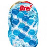 Bref Brilliant Gel All in 1 Arctic Ocean WC blok s vôňou oceánu 3 x 42 g