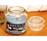 Lima Aróma Dreams Bavlna aromatická sviečka pohár s viečkom 120 g