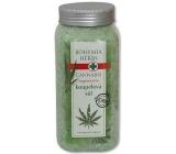 Bohemia Gifts & Cosmetics Cannabis Konopný olej regenerační koupelová sůl 900 g