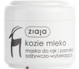 Ziaja Kozí mléko maska na ruce a nehty 75 ml