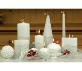 Lima Artic sviečka biela guľa 100 mm 1 kus