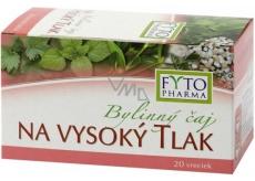 Fytopharma Bylinný čaj na vysoký tlak 20 x 1,25 g
