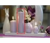 Lima Pastel svíčka metal světle fialová válec 50 x 170 mm 1 kus