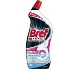 Bref 10x Effect Power gél Max White Arctic tekutý WC čistič proti vodnému kameňu 700 ml