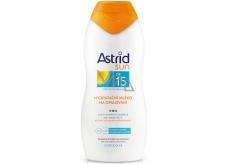Astrid Sun OF15 Hydratačné mlieko na opaľovanie 200 ml
