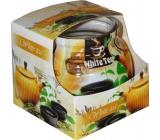 Admit White Tea - Bílý čaj dekorativní aromatická svíčka ve skle 80 g