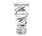 Jeanne en Provence Lavande Levandule hydratační krém na ruce 75 ml