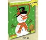 Nekupto Darčeková papierová taška malá 14 x 11 x 6,5 cm Vianočná 1705 50 WBS