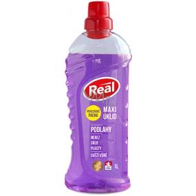 DÁREK Real Maxi úklid Podlahy univerzální čisticí prostředek s pohlcovačem pachu 1 l