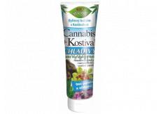Bion Cosmetics Cannabis + Kostihoj Chladivý bylinný balzam s kostihojom 200 ml
