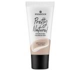 Essence Pretty Natural hydratačný báza make-up 110 Cool Beige 30 ml