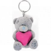 Me To You Kľúčenka plyšová Srdce ružové 8 cm