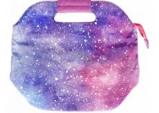 Albi Original Svačinová cestovná taška Vesmír uchová potraviny dlhšie teplej / studenej 14,5 x 22 x 26,5 cm