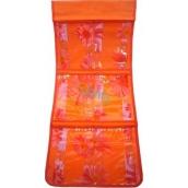 Kapsář do koupelny závěsný 700 oranžový 25 x 58 cm 1 kus