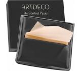 Artdeco Oil Control Paper papieriky na kontrolu mastnej pleti v obale 100 kusov