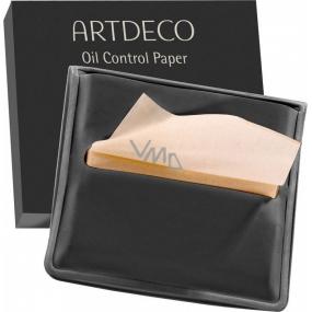Artdeco Oil Control Paper papírky na kontrolu mastné pleti v obalu 100 kusů