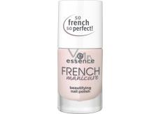 Essence French Manicure Beautifying Nail Polish lak na nehty 02 Frenchs Are Forever 10 ml