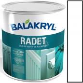 Balakryl Rådet 0100 Biely Lesk vrchná farba na radiátory 0,7 kg