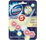 Domestos Power 5 Orange Blossom Wc pevný blok 55 g