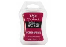 Woodwick Pomegranate - Granátové jablko vonný vosk do aromalampy 22.7 g