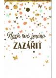 Nekupto Nechaj svoje meno zažiariť taška na keramický svietnik s venovaním 17,5 x 11 x 8 cm