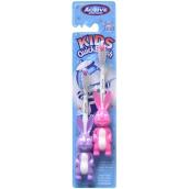 Beauty Formulas Active Zajac mäkká zubná kefka pre deti 3-6 rokov 2 kusy