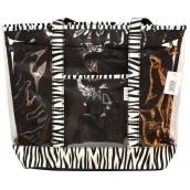 Diva & Nice Plážová taška Zebra 45 x 15 x 33 cm TB4016