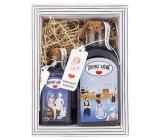 Bohemia Gifts Domáce kúpele - Levanduľa sprchový gél 250 ml + soľ do kúpeľa 110 g, kozmetická sada
