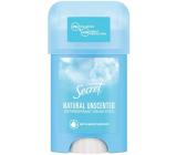 Secret Natural unscented krémový antiperspirant stick pre ženy 40 ml