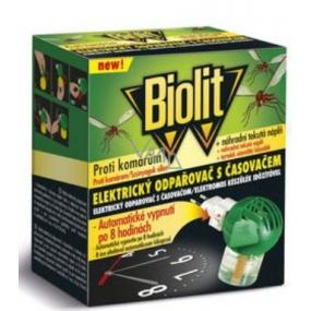 Biolit s časovačom na hubenie komárov + Elektrický odparovač tekutá náplň