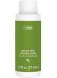 Ziaja Oliva micelárna voda pre suchú a normálnu pokožku 50 ml cestovné balenie