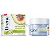 Lirene Rejuvenating Avocado Oil Hydratácia a výživa avokádový olej deň / noc hyaluronová krém 50 ml