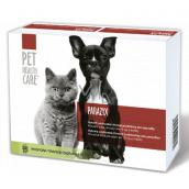 Pet Health Care Parazyx Proti začervenia aj po preliečení pes, mačka do 15 kg 22 tabliet
