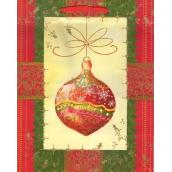 Albi Dárková papírová taška střední 23 x 18 x 10 cm Vánoční TM4 96236