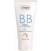 Ziaja BB SPF 15 krém mastná a zmiešaná pleť 02 Natural 50 ml