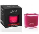 Millefiori Milano Natural Grape Cassis - Hrozno a čierne ríbezle Vonná sviečka horí až 60 hodín 180 g