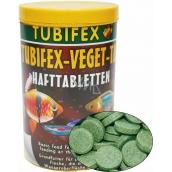Tubifex Veget Tab základné krmivo pre ryby, ktoré prijímajú krmivo z hladín vôd 125 ml
