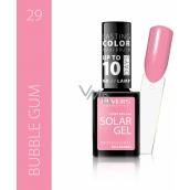 Reverz Solar Gél gélový lak na nechty 29 Bubble Gum 12 ml