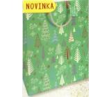 Nekupto Darčeková papierová taška veľká 32,5 x 26 x 13 cm Vianočný 1814 50 WBL