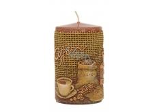 Candles Coffee vonná sviečka valec 60 x 100 mm 1 kus
