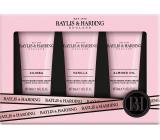 Baylis & Harding Jojoba, vanilka a mandľový olej krém na ruky 3 x 50 ml, kozmetická sada