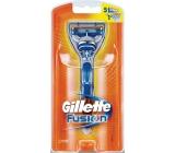 Gillette Fusion holící strojek + náhradní hlavice 2 kusy