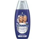 Schauma Silver Reflex šampón pre zafarbenou blond, šedivé alebo biele vlasy, proti žltým tónom 250 ml