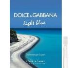 Dolce & Gabbana Light Blue Swimming in Lipari toaletní voda pro muže 2 ml s rozprašovačem, Vialka