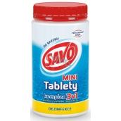Savo 3v1 Mini komplex Chlórové tablety do bazéna dezinfekcia 800 g