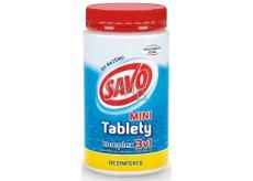 Savo 3v1 Mini komplex Chlorové tablety do bazénu dezinfekce 800 g