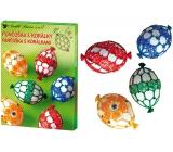 Sada k dekorovanie vajíčok - Punčoška s korálkami 7726 0689