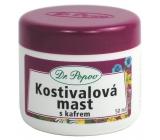 Dr. Popov Kostivalová mast s kafrem k masáži ztuhlého pohybového aparátu 50 ml