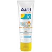 Astrid Sun Baby OF30 krém na opaľovanie na tvár a telo 75 ml